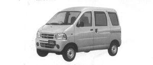 Daihatsu Hijet VAN CARGO DELUXE 4WD 2000 г.