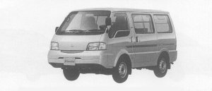 Nissan Vanette VAN 4WD LOW FLOOR STANDARD ROOF, GL 2000 г.
