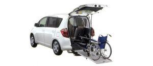Toyota Ractis Welcab, Wheelchair Specification, Type I 2007 г.