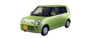 Nissan Pino E 4AT 2007 г.