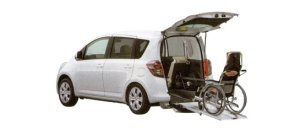 Toyota Ractis Welcab, Wheelchair Specification, Type I 2008 г.