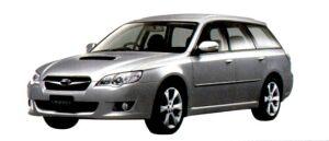 Subaru Legacy TOURING WAGON 2.0GT 2007 г.
