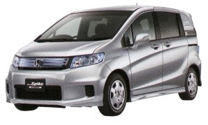 Honda Freed Spike, Hybrid 2014 г.