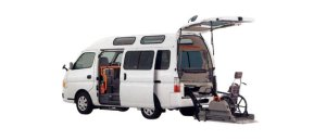Nissan Caravan 2WD, Chair Cab, M-Type, 10-seater/2-wheelchair (Gasoline) 2009 г.