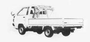 Toyota Liteace Truck CRANE 1993 г.