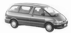 Toyota Estima Emina X 2WD TWIN MOON ROOF 1993 г.