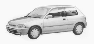 Daihatsu Charade TZ 1300 3DOORS 1993 г.