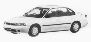 Subaru Legacy 4WD TOURING SPORT TX 1993 г.