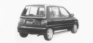 Daihatsu Mira MODERNO G 5 Doors 1993 г.