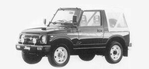 Suzuki Jimny FULL METAL DOOR CC 1993 г.