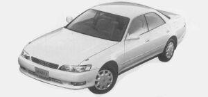 Toyota Mark II 2.5 GRANDE FOUR 1993 г.