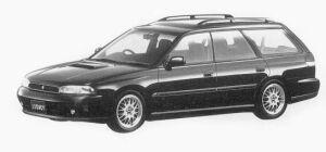 Subaru Legacy 4WD TOURING WAGON GT/B-SPEC 1993 г.