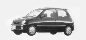 Mitsubishi Minica 3 DOORS SR (4A/T) 1993 г.