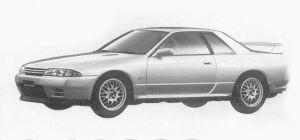 Nissan Skyline 2 DOORS GT-R V SPEC 1993 г.
