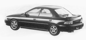 Subaru Impreza 4WD HARD TOP SEDAN 1.8L HX EDITION-S 1993 г.