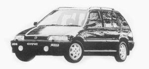 Honda Civic Shuttle RTi (4WD) 1993 г.