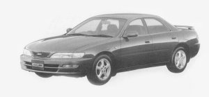 Toyota Carina ED G 1993 г.