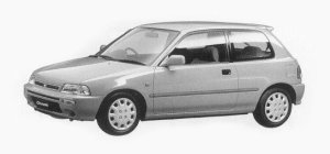 Daihatsu Charade TR 1500 3DOORS 1993 г.