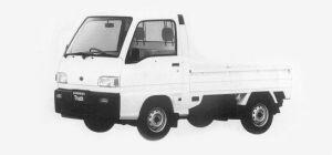 Subaru Sambar Truck STANDARD ROOF STD 1993 г.