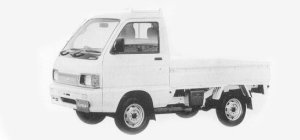 Daihatsu Hijet CUSTOM 4WD 1993 г.