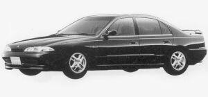 Mitsubishi Eterna V6 2.0 MIVEC 24V VISAGE-R 1993 г.