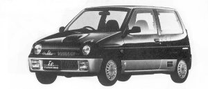 Suzuki Alto Works TURBO I.E. 1992 г.