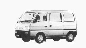 Suzuki Carry VAN GL 1992 г.