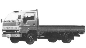Toyota Toyoace WIDE CAB J/L 2T DIESEL 1992 г.