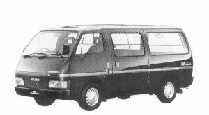 Isuzu Fargo LONG VAN LT 2WD 1992 г.