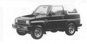 Daihatsu Rocky SE 1992 г.