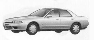 Nissan Skyline 4DOOR SPORT SEDAN GTE TYPE-X 1992 г.