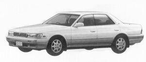 Nissan Laurel RB20E SV 1992 г.