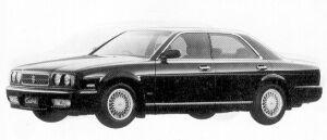Nissan Cedric V30 TWIN CAM TURBO 1992 г.
