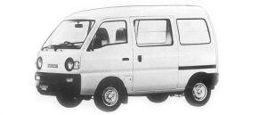 Suzuki Carry PB HIGH ROOF 1992 г.