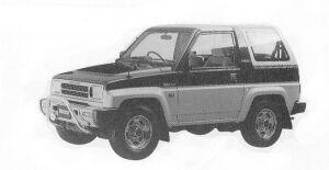Daihatsu Rocky SX LIMITED 1992 г.