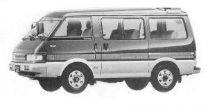 Mazda Bongo WAGON 4WD 2000 DIESEL TURBO LIMITED 1992 г.