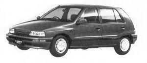 Daihatsu Charade KISSA DIESEL TURBO 1.0 5DOOR 1992 г.