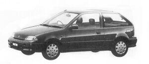 Suzuki Cultus 1000 G 1992 г.