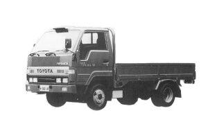 Toyota Toyoace J/L 1.5T DIESEL 1992 г.