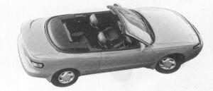Toyota Celica CONVERTIBLE TYPE G 4WS 1992 г.