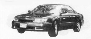 Toyota Windom 3.0G 1992 г.