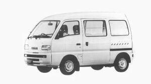 Suzuki Carry VAN PC HIGH ROOF 1992 г.