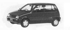 Daihatsu Mira 5DOOR J-4WD TYPE Q 1990 г.
