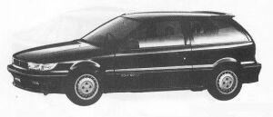 Mitsubishi Mirage 3DOOR 1600 DOHC SUPER SWIFT-R 1990 г.