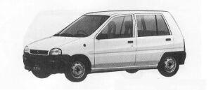 Subaru REX 5DOOR SEDAN C 1990 г.
