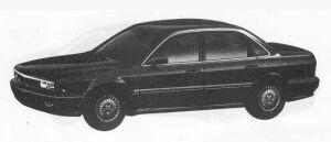 Mitsubishi Sigma 25E 1990 г.