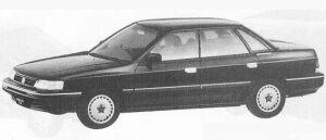 Isuzu Aska CX 2000 1990 г.
