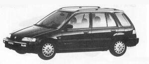 Honda Civic Shuttle 56i 1990 г.
