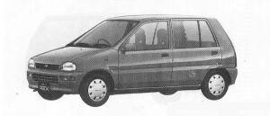 Subaru REX 5DOOR SEDAN FARIA ECVT 1990 г.