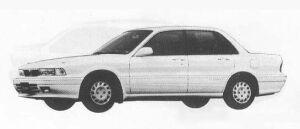 Mitsubishi Galant 1.8 MF 1990 г.